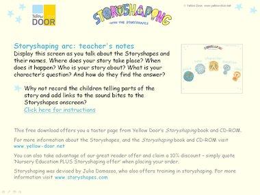 Storyshaping arc