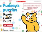 Pudsey's puzzles: Jigsaw-puzzle game
