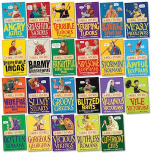 Horrible Histories Pack x 23