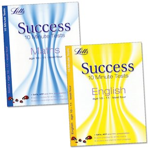 Letts Success 10 Minute Tests Pack: Ages 10-11