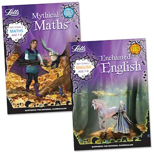 Enchanted English and Mythical Maths Pack: Ages 7-8
