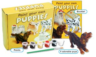 Paint Your Own Puppies Pack