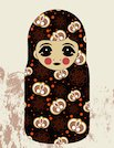 Vintage Russian doll
