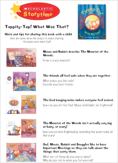 Tappity Tap Storytime Notes
