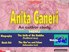 Anita Ganeri  – traditional stories and information texts