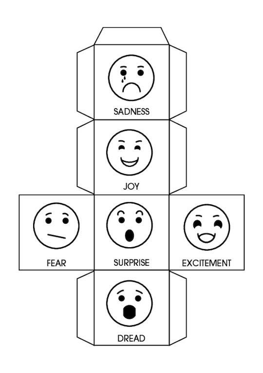 Storytelling - Emotions Dice