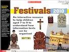 Festivals – interactive resource