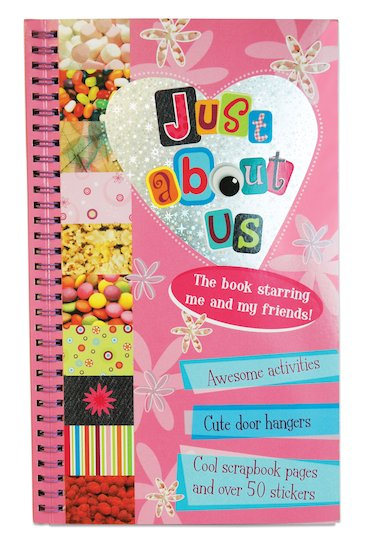 Just About Us Scrapbook