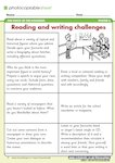 Reading and Writing Challenges (1 page)