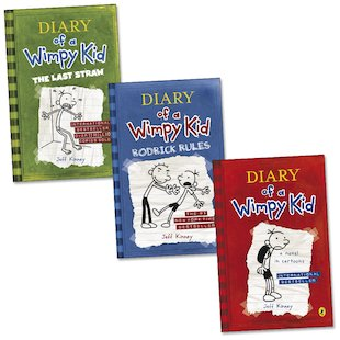 Diary of a Wimpy Kid Trio