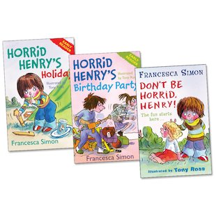 Horrid Henry Readers Pack