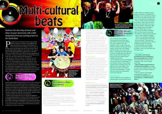 Multi-cultural beats - case study