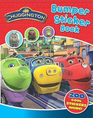 Chuggington Bumper Sticker Book