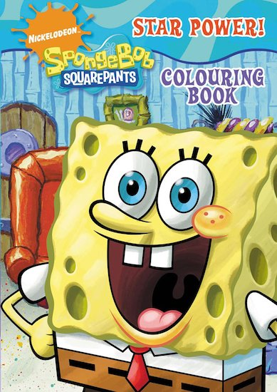 SpongeBob: Star Power Colouring Book