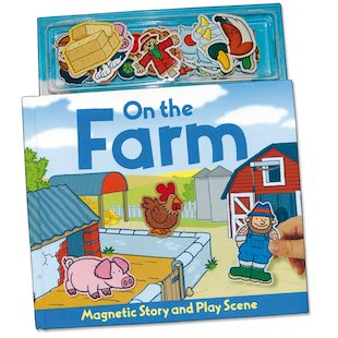 Magnetic Play Scene: On the Farm