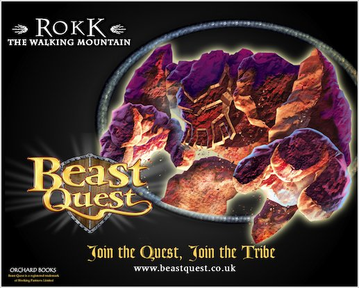 Beast Quest Rokk Wallpaper