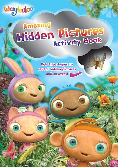 Waybuloo: Hidden Pictures Activity Book