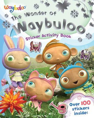 The Wonder of Waybuloo: Sticker Activity Book