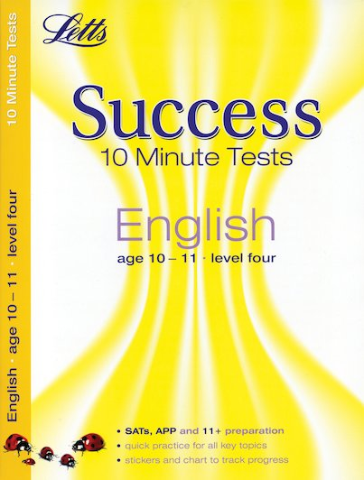 Letts Success 10 Minute Tests: English (Ages 10-11)