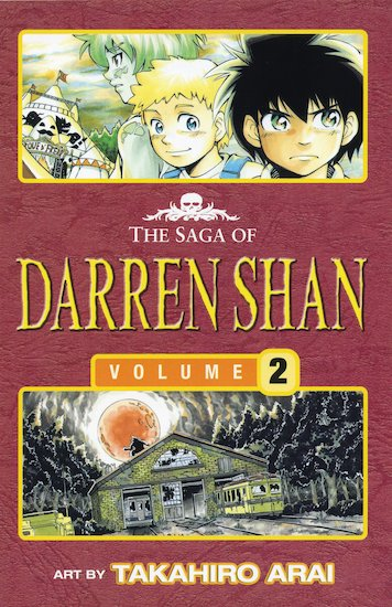 The Saga of Darren Shan Graphic Novel: Volume 2 - The Vampire's Assistant