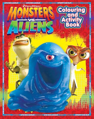 Monsters Vs Aliens Colouring and Activity Book