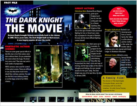 The Dark Knight: Fact File