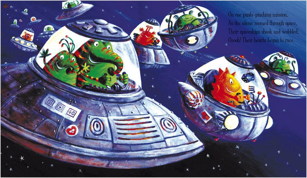 Aliens in Underpants Save the World - Scholastic Kids' Club
