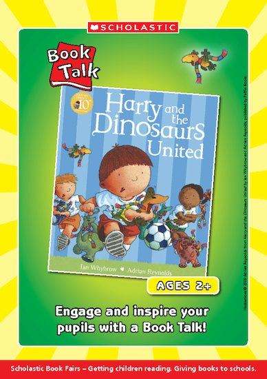 Harry & the Dinosaurs United Book Talk