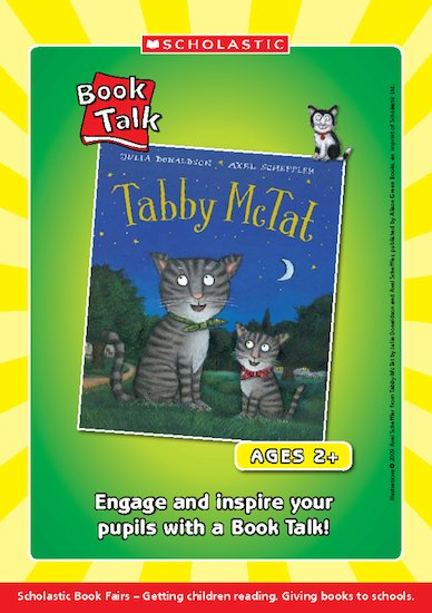 Tabby McTat Book Talk