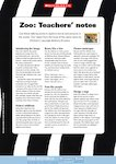 Zoo activity sheets (3 pages)