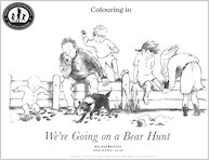 We're Going on a Bear Hunt Colouring Fun