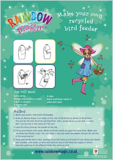 Rainbow Magic Make Your Own Recycled Bird Feeder
