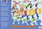 Toytown parade – poster
