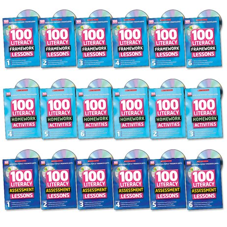 100 Literacy Super Easy-buy Pack