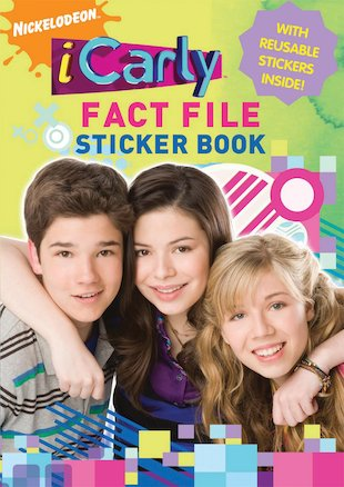 iCarly Fact File Sticker Book