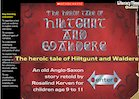The heroic tale of Hiltgunt and Waldere – Anglo-Saxon folk tale