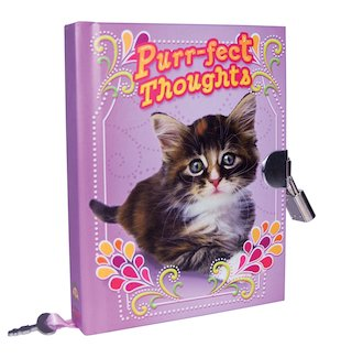 Purr-fect Thoughts Journal