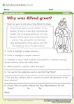 King Alfred the Great - Why was Alfred great? (1 page)