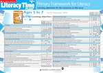 Primary Framework - Literacy Time PLUS Ages 5 to 7, Issue 44 (2 pages)