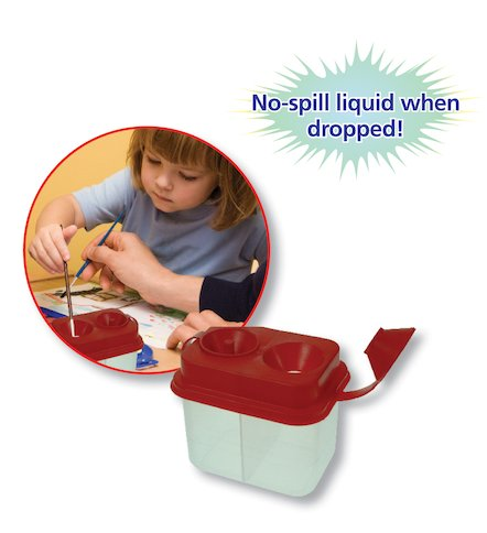 No-Spill Paint Pot