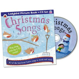 Ladybird Christmas Songs: Book and CD