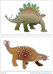 'm is for me!' Dinosaur Treasure Hunt - illustrations 1 (1 page)