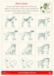 Dogs Pairs Game (2 pages)