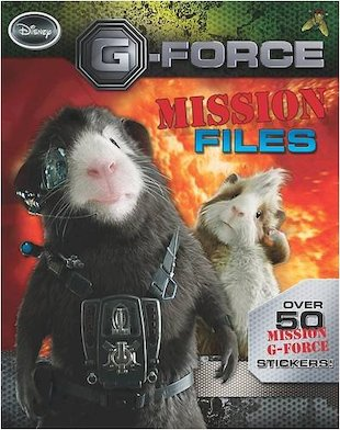 G-Force: Mission Files Activity Book