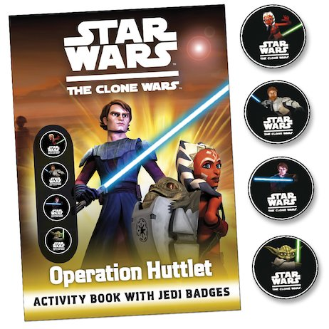 Star Wars: Operation Huttlet Activity Book