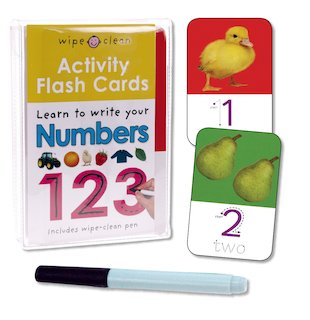Activity Flash Cards: Learn to Write Your Numbers