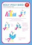 Roald Dahl activity sheet: Roly Poly Bird (1 page)