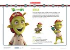 Planet 51: Eckle character profile
