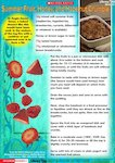 Fruit crumble - Anglo-Saxon recipe (1 page)