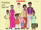 Families are special – interactive poster